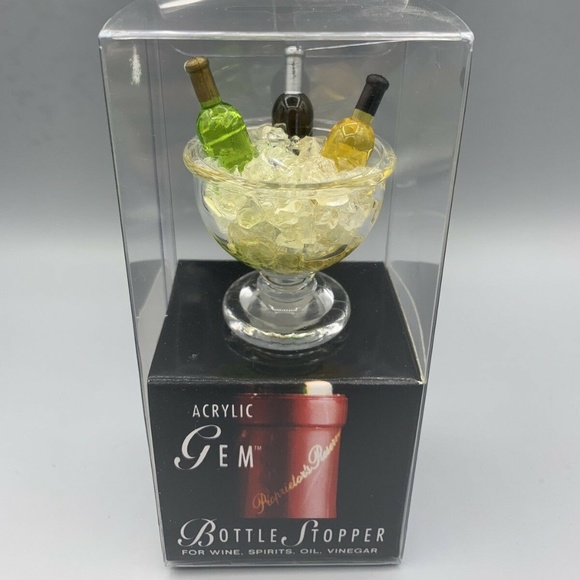 Prodyne Other - Gem Bottle Stopper - Big Wine Bowl on Ice
